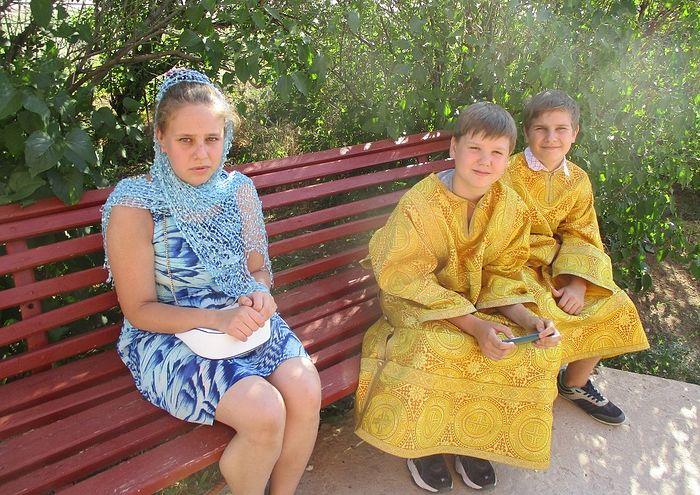Василиса, Степан и Саша Епифанов
