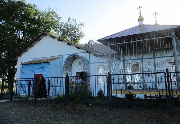 Храм Димитрия Солунского в Дмитриевке