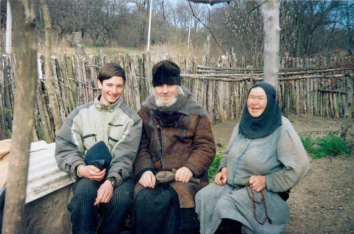 В скиту родной Носовки, где родился батюшка