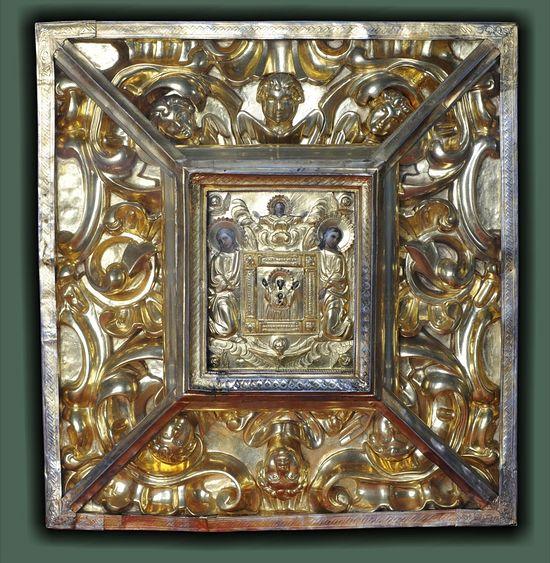 Современный вид Вилийской иконы Божией Матери «Знамение»