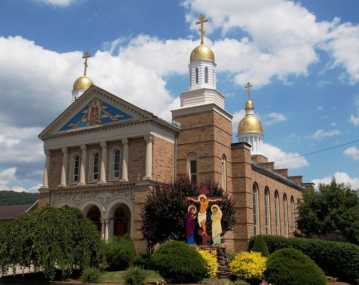 Christ the Savior Cathedral and seminary in Johnstown, Pennsylvania, of the ACROD Diocese, shares a name with the Cathedral in Uzhhorod, Transcarpathia. Photo: wikimedia.org