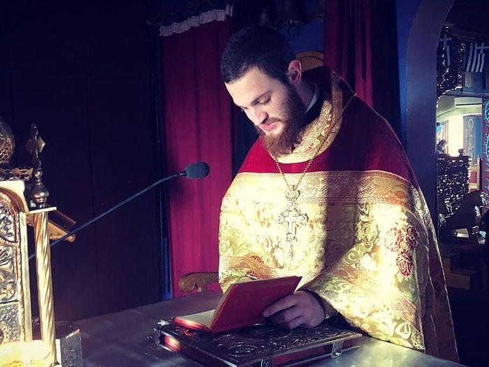 Hieromonk Hierotheos (Margvelashvili), who announced he was opening a Georgian parish. Photo: Facebook