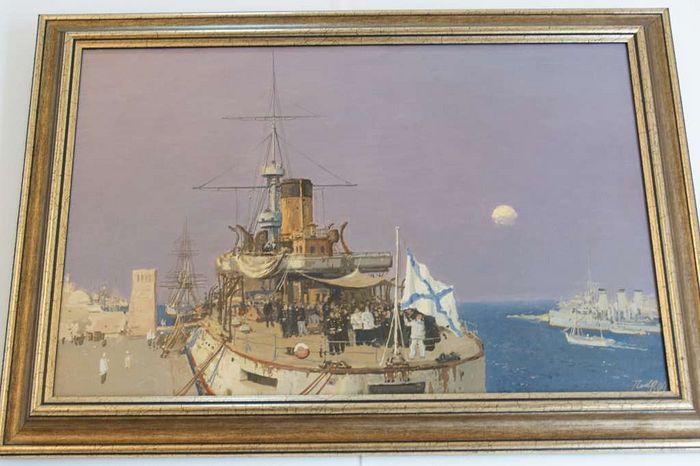 Картина из Дома-резиденции имени А.А. Ширинской-Манштейн