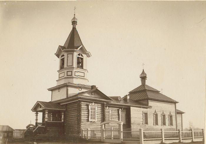 Церковь села Зюздино-Христорождественское. Начало ХХ века (Вятский епарх. архив)