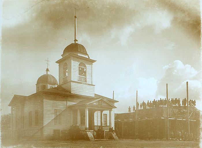 Село Игра. Иоанно-Богословскя церковь. Начало ХХ века (Фотофонд ЦГАКО. № 0163)