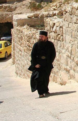 Монах Николай (Муромцев) на Святой Земле