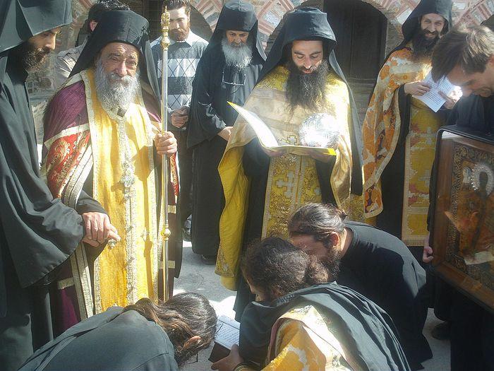 Το Πάσχα στην Ιερά Μονή Δοχειαρίου