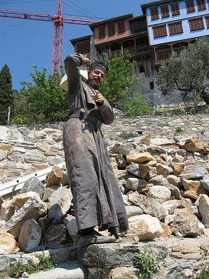 Ο πατήρ Αμφιλόχιος από την Ιερά Μονή Δοχειαρίου
