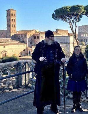 Архиепископ Агапит (Горачек) и Анастасия Лимбергер