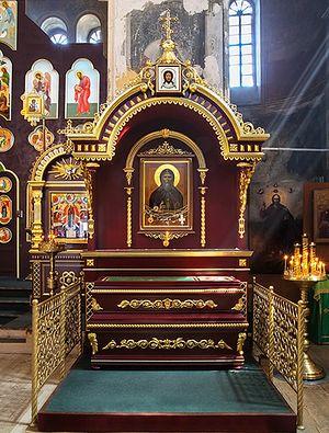Мощи преподобного Далмата Исетского