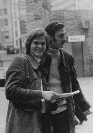 Александр (будущий владыка Агапит) и Михаил Горачеки. 1970 г