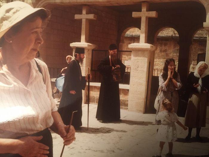 Паломничество на Святую землю в 1985 году. Владыка Марк и отец Агапит