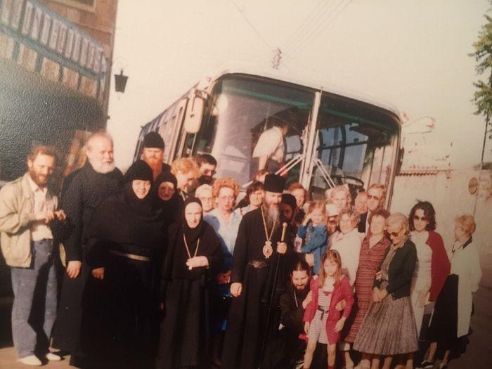 Паломничество на Святую землю в 1985-м году