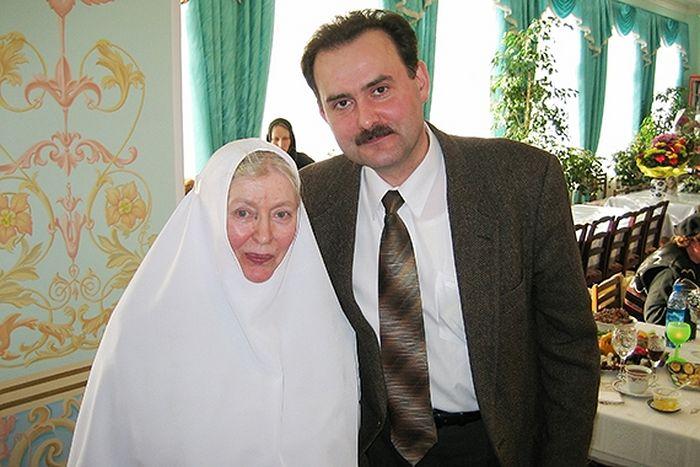 Матушка Анастасия с профессором Коханенко