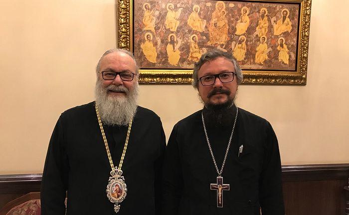 Предстоятель Антиохийской Православной Церкви встретился с представителем Патриарха Московского и всея Руси при Антиохийском Патриарше