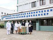 Белорусская Православная Церковь передала Минскому онкодиспансеру дыхательное оборудование