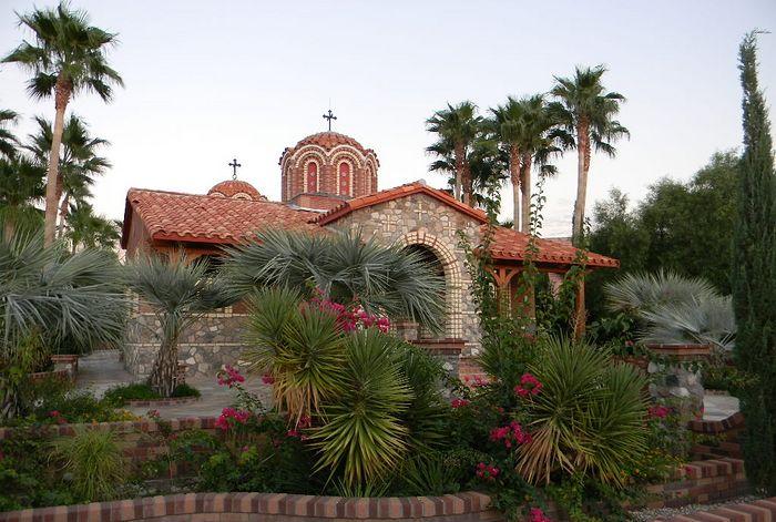Монастырь Антония Великого в Аризоне