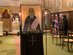 Feast of St. Sophrony of Essex celebrated at his monastery for first time