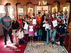 Mass Baptism of children celebrated in Zimbabwe