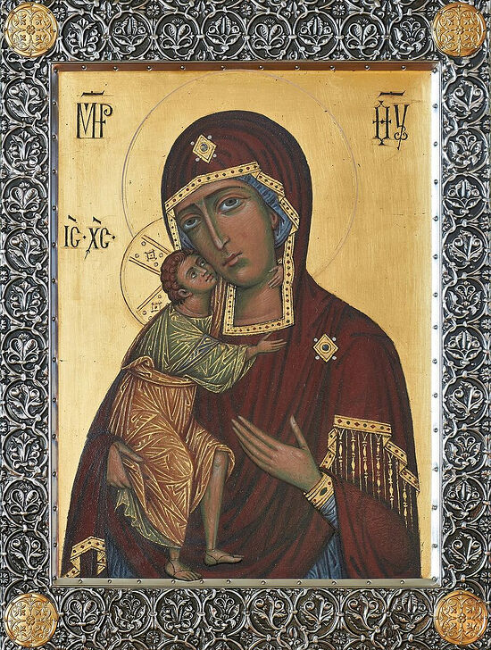 The Feodorovskaya icon of the Mother of God