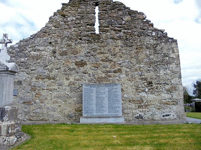 Недавно восстановленные руины монастыря Друм, гр. Роскоммон