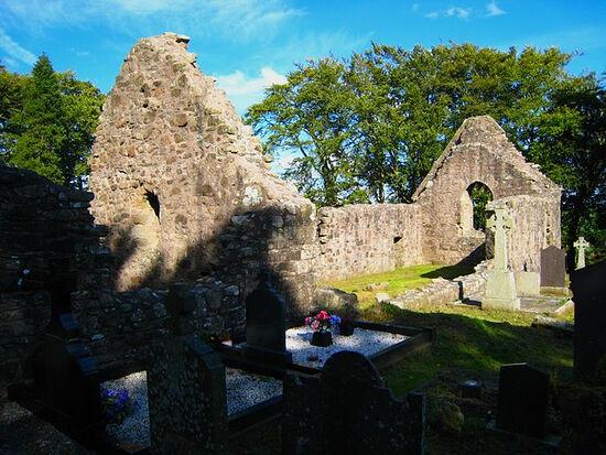 Руины старой церкви в Киливи, гр. Арма