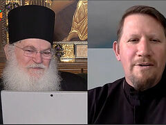VIDEO: Online discussion with Elder Ephraim of Vatopaidi and Fr. John Parker, Dean of St Tikhon's Orthodox Theological Seminary