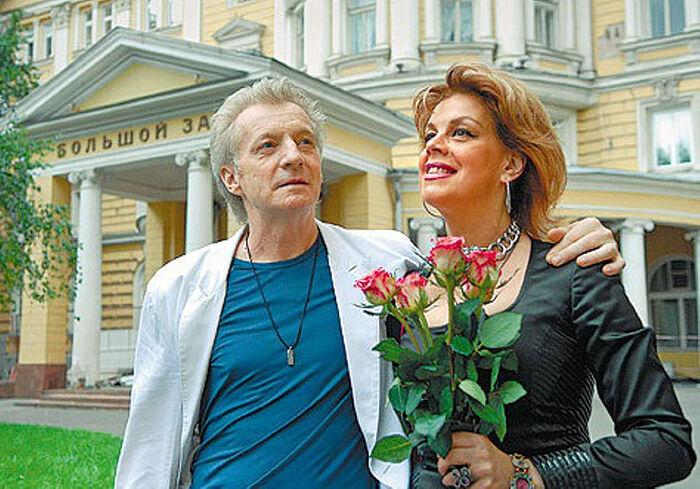 Любоь Казарновская с мужем Робертом