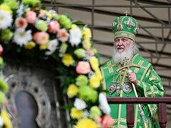 Святейший Патриарх Кирилл: Дай Бог, чтобы главным уроком пандемии стало обновление веры