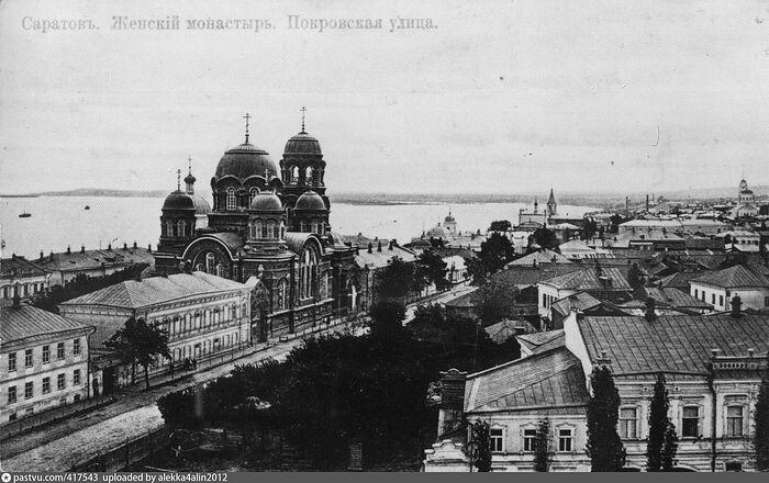 Никольский храм Крестовоздвиженского женского монастыря