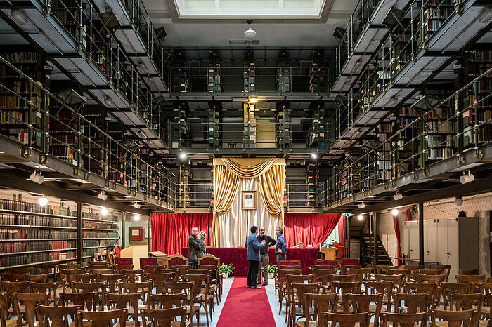 """""""The library of the Pontifical Oriental Institute is one of the best, if not the best library, on eastern Christian studies in the world."""" Photo: smtstudio.it"""