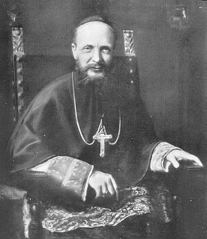 Michel d'Herbigny, who planned a (failed) secret mission to Russia, and hoped the destruction of Russia and Orthodoxy by the Communists would help spread Catholicism.