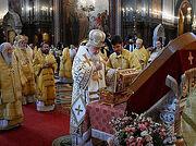 В день памяти равноапостольного князя Владимира Предстоятель Русской Церкви совершил Литургию в Храме Христа Спасителя