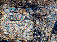 1,300-year-old church with colorful mosaics discovered in the Galilee