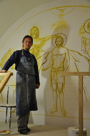 Дмитрий Мироненко, иконописец