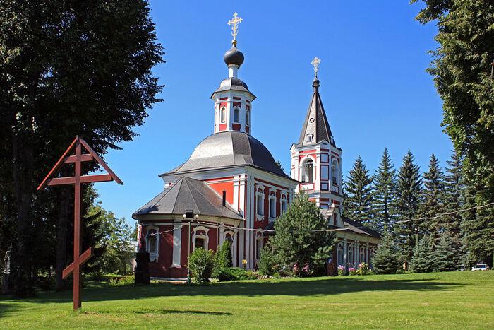 Ильинский храм города Сергиев Посад