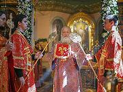 В день памяти пророка Божия Илии Святейший Патриарх Кирилл совершил Литургию в храме Илии Пророка