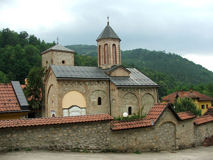 Rača Monastery in honor of the Ascension of the Lord