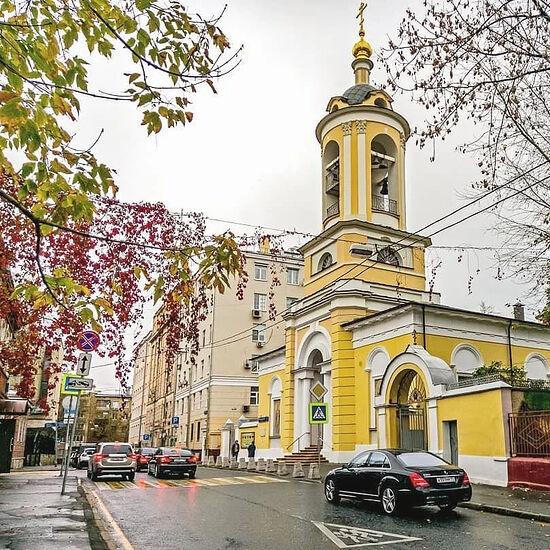 Храм Св. Иоанна Предтечи на Пресне
