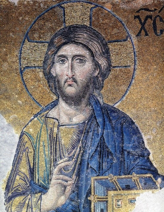 Иисус Христос. Мозаика