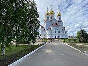 Завершено благоустройство территории Михаило-Архангельского кафедрального собора Архангельской епархии