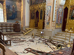 Orthodox churches damaged, 100+ killed, 4000+ wounded, over 200,000 homeless after Lebanon explosion