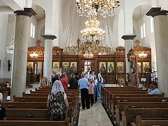 Regular services in Church Slavonic begin to be held in Jordan