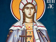 The Blessed Deaconess and Confessor St. Olympias (Olympiada), of Constantinople