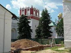 Archeologists uncover lost fortress fragments in Novodevichy Convent