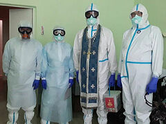 Thousands of COVID protective suits and gear donated for Russian priests