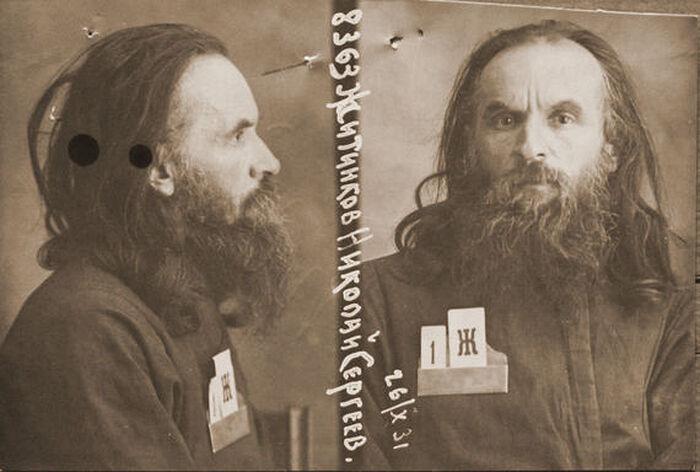 Священник Николай Житников. Фото из личного дела