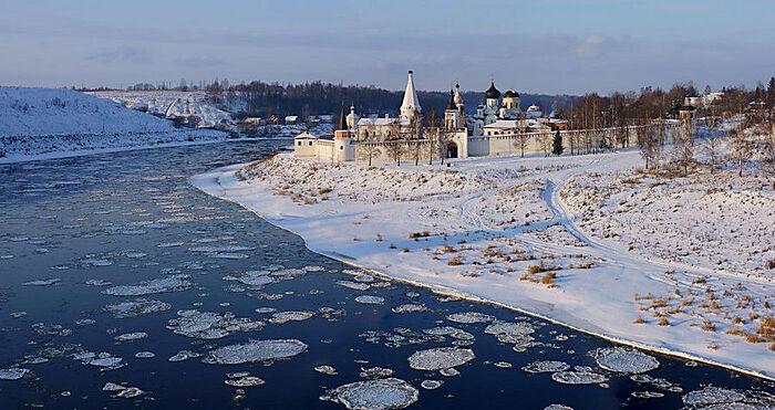Πάγος στον Βόλγα © lioudoff