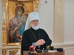 Патриарший экзарх всея Беларуси призвал власти и общественность вместе искать мирные пути разрешения кризиса в стране