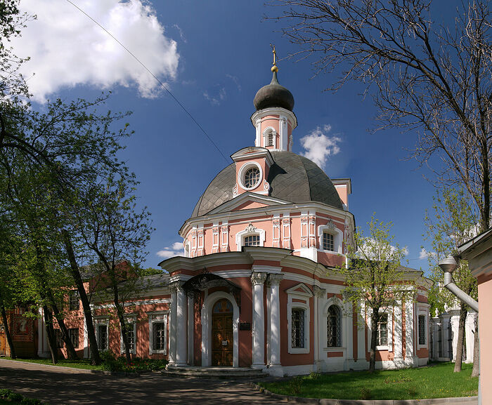 The Church of St. Catherine In-the-Fields. The OCA representation in Moscow.